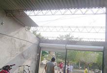 Casa de Granada sin techo