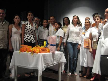 Foto de los ganadores del Noveno Foro Departamental